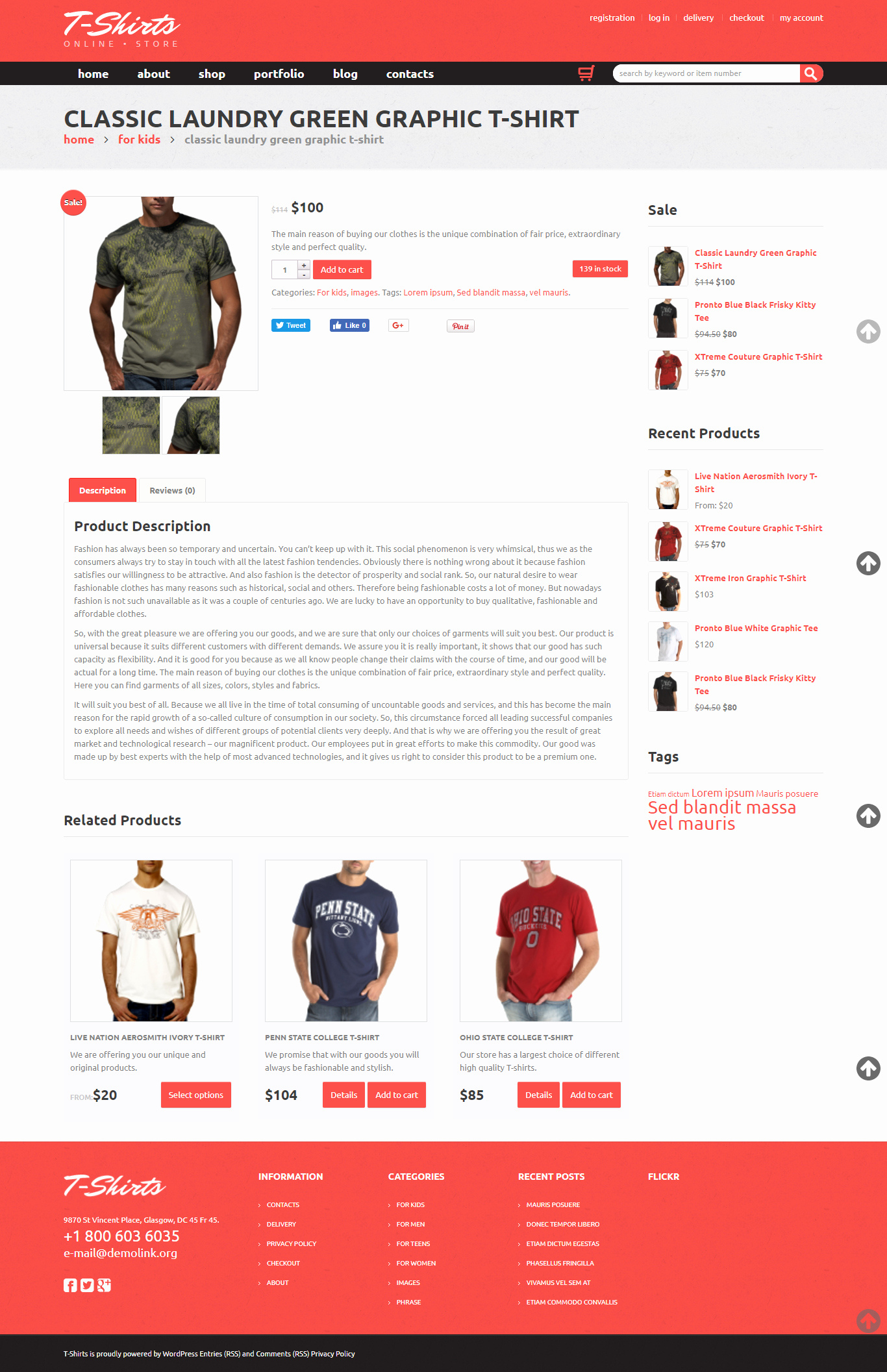 T Shirt Website Template Inspirational T Shirts Business Shop E Merce Woo Merce theme