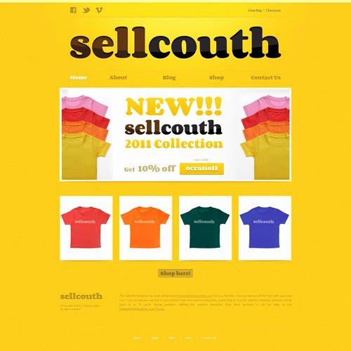 T Shirt Website Template Lovely Ready T Shirt Website Template