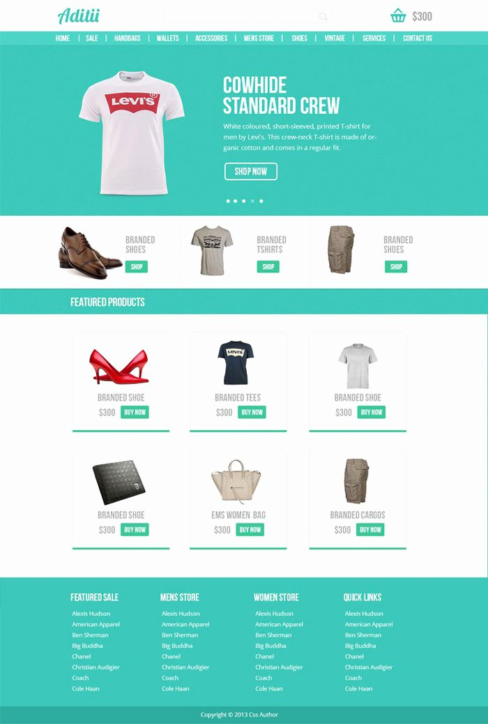 T Shirt Website Template New 22 Free E Merce Psd Website Templates Designyep