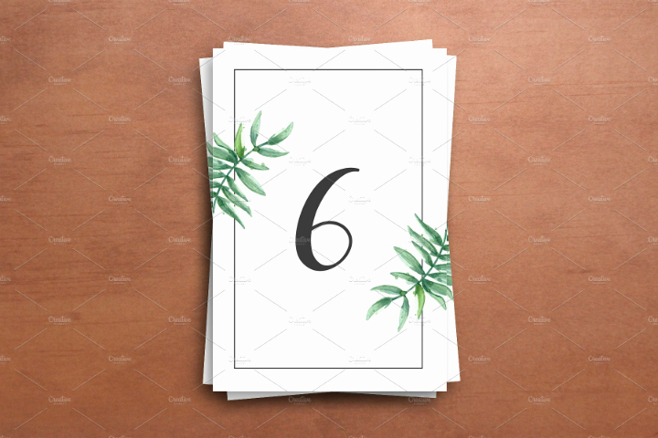 Table Number Cards Template Beautiful 21 Wedding Table Card Templates Editable Psd Indesign