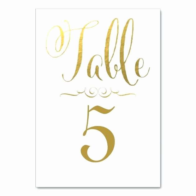 Table Number Template Word Best Of Table Number Templates – Manningfamily