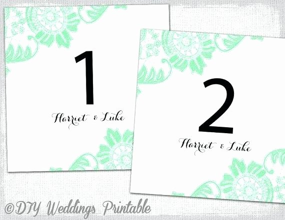 Table Number Template Word Fresh Table Tent Template Word 2013 Red Poppy Table Number