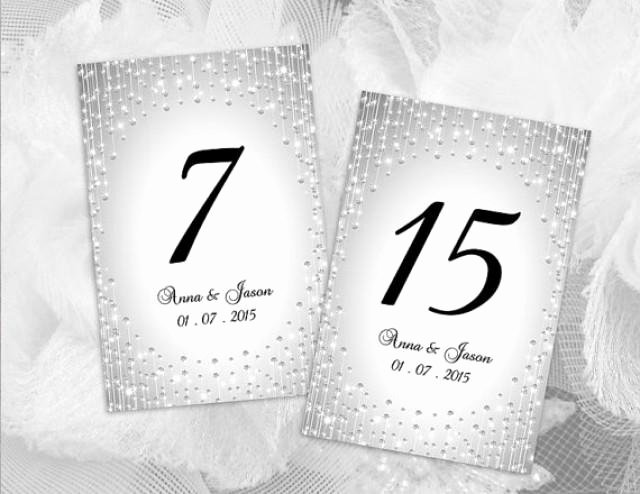 Table Number Template Word Unique Diy Printable Wedding Table Number Template