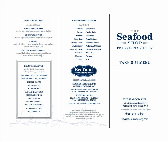 Take Out Menu Template Best Of 20 Take Out Menu Templates – Free Sample Example format