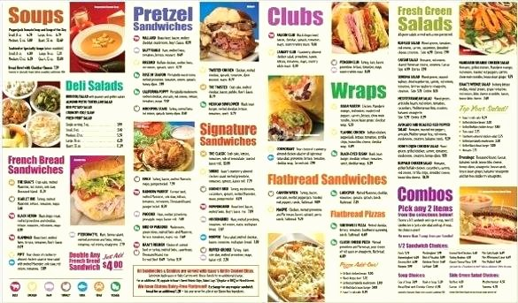 Take Out Menu Template Elegant Take Out Menu Template Free Documents Download Restaurant