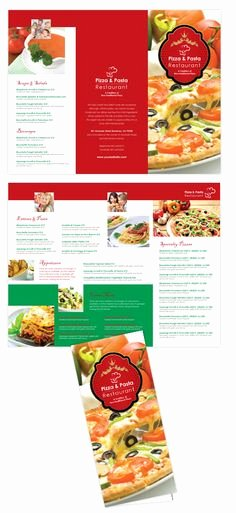 Take Out Menu Template Luxury 1000 Images About Brochure On Pinterest