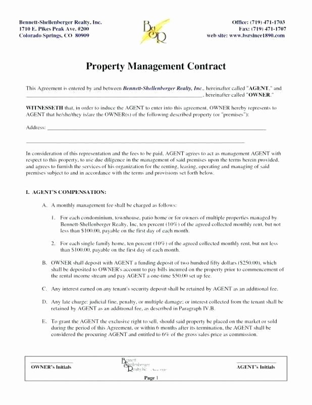 Talent Management Contract Template Best Of Artist Management Contract Template Agreement Next Project