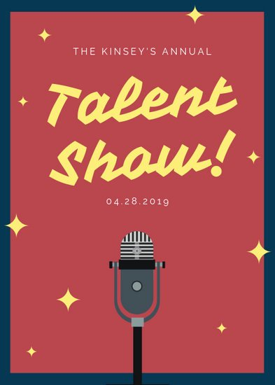 Talent Show Flyer Template Best Of Customize 73 Talent Show Flyer Templates Online Canva