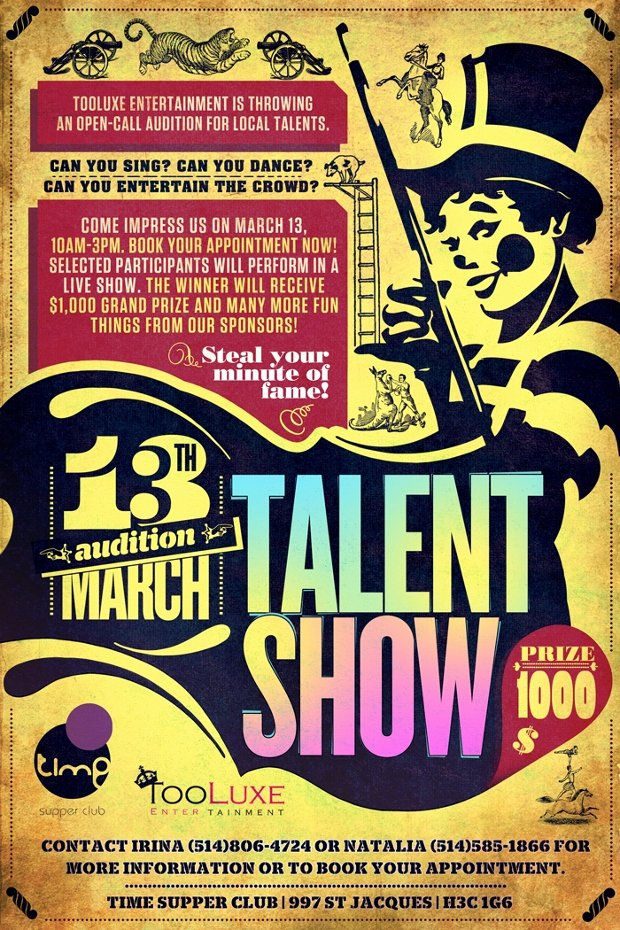 Talent Show Flyer Template Elegant 20 Talent Show Flyer Templates Printable Psd Ai