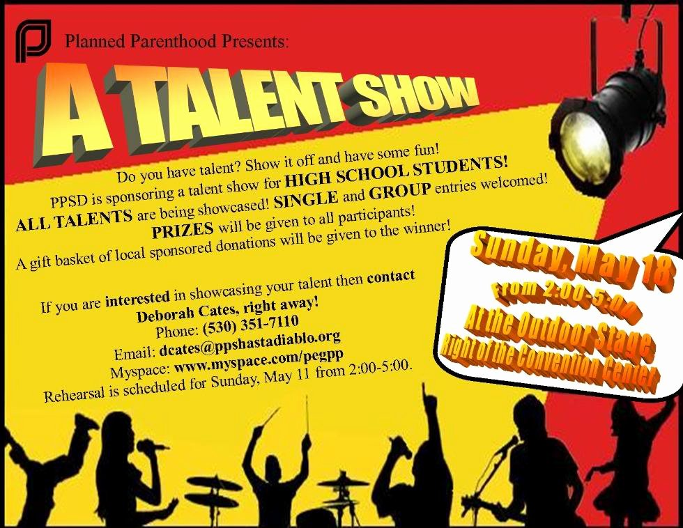 Talent Show Flyer Template Elegant Talent Show Quotes Quotesgram