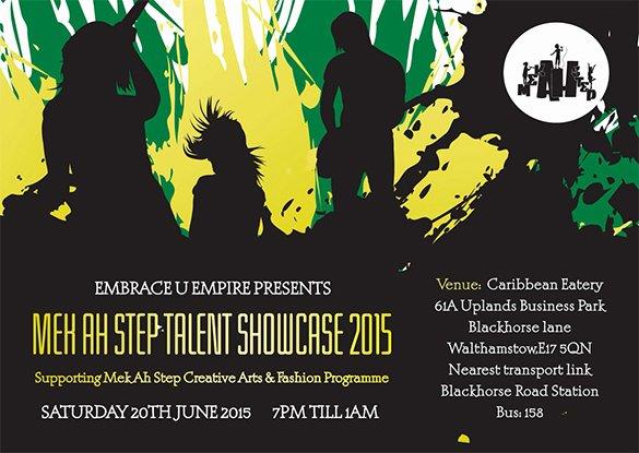 Talent Show Flyer Template Inspirational 17 Amazing Talent Show Flyer Templates Psd