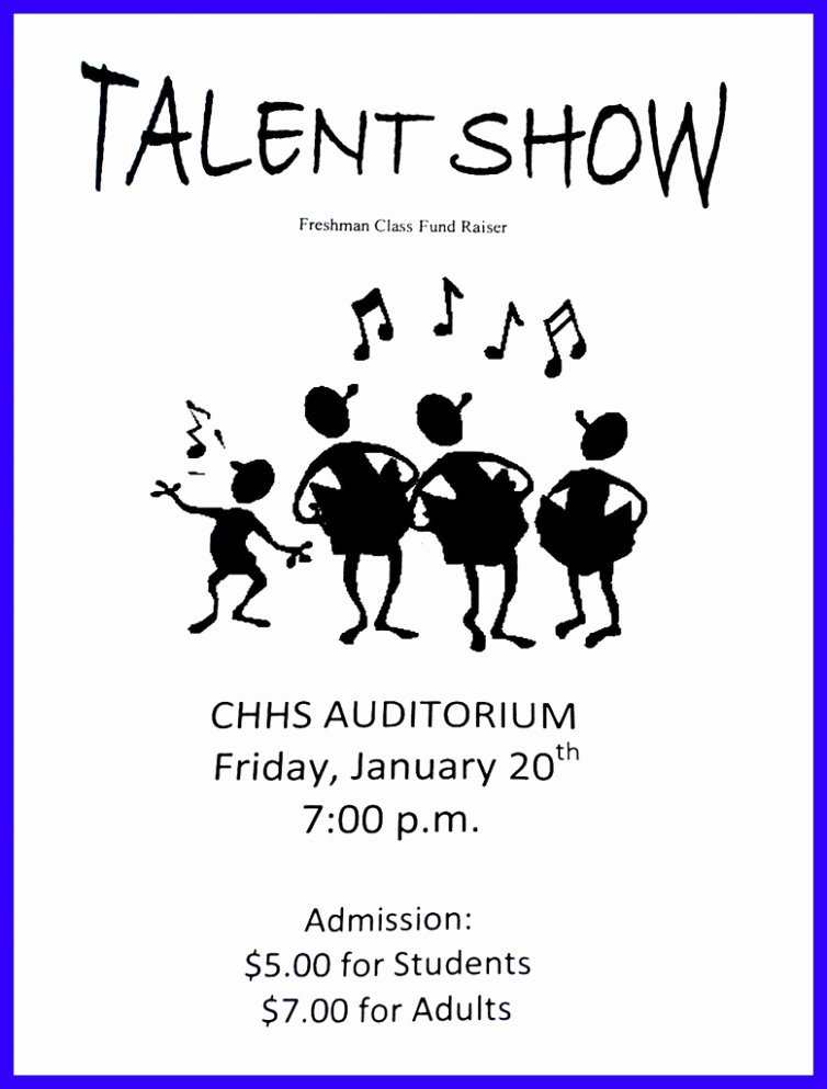 Talent Show Program Template Lovely Fascinating Talent Show Certificate Template Free School