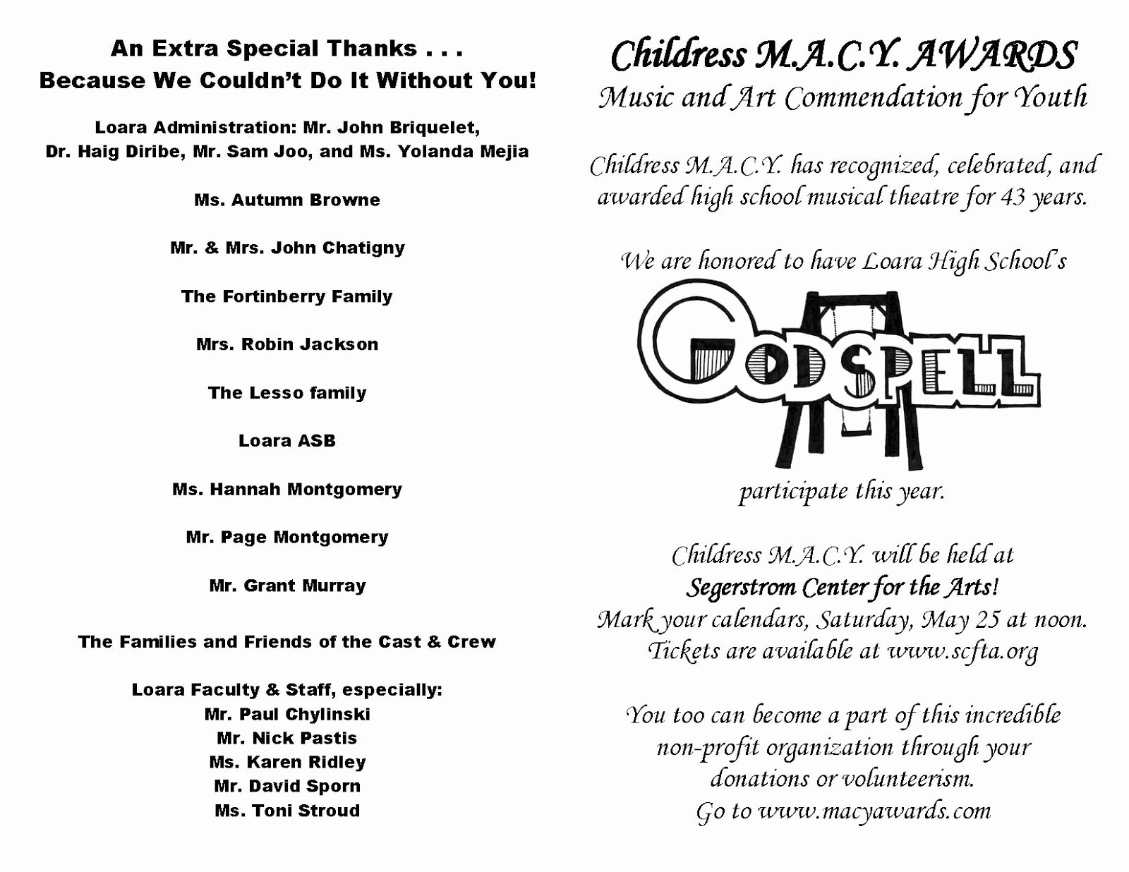 Talent Show Program Template New School Talent Show Program Template Bing Images