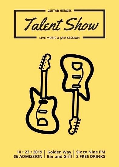 Talent Show Program Template Unique Variety Show Program Template Non Profit Bud Proposal