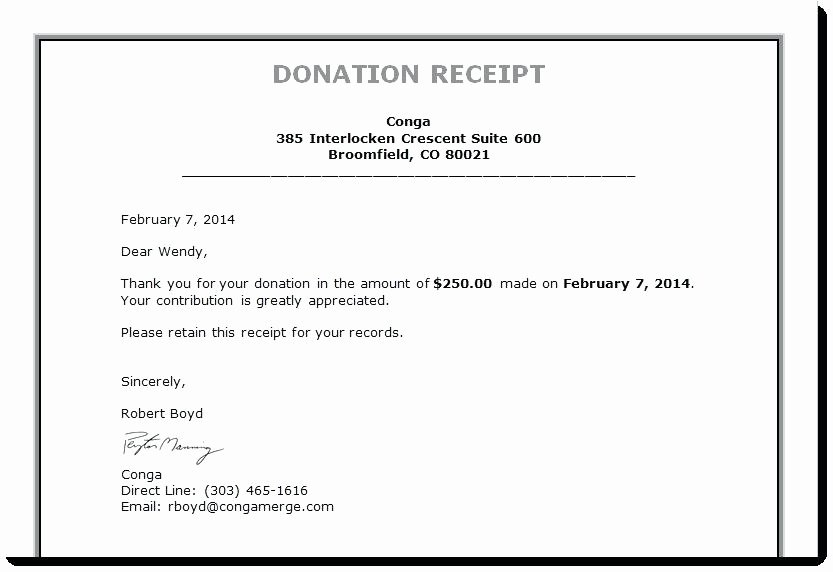 Tax Deductible Receipt Template Awesome Tax Deductible Donation Receipt Template