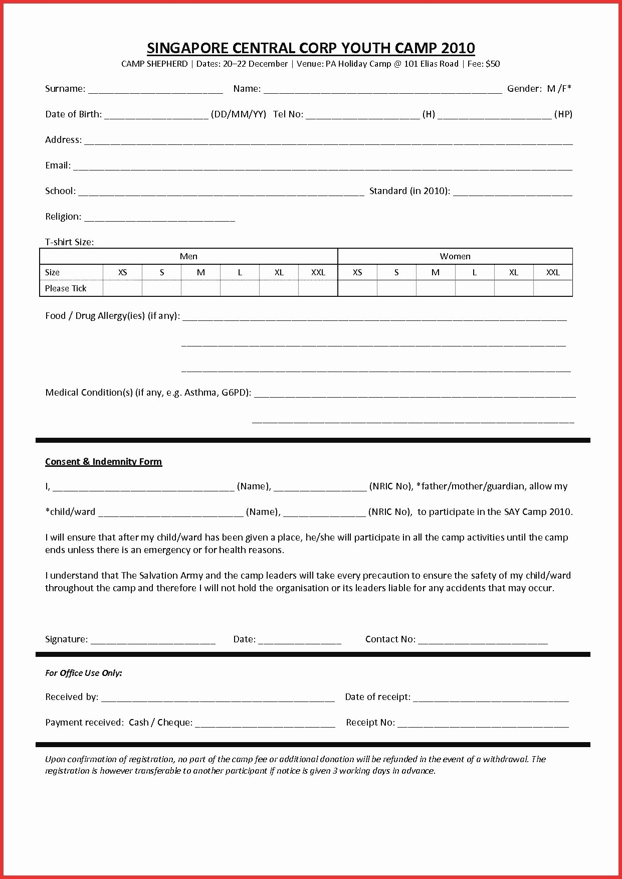 Tax Donation form Template Fresh Tax Receipt for Donation Template Downloadable Non Profit