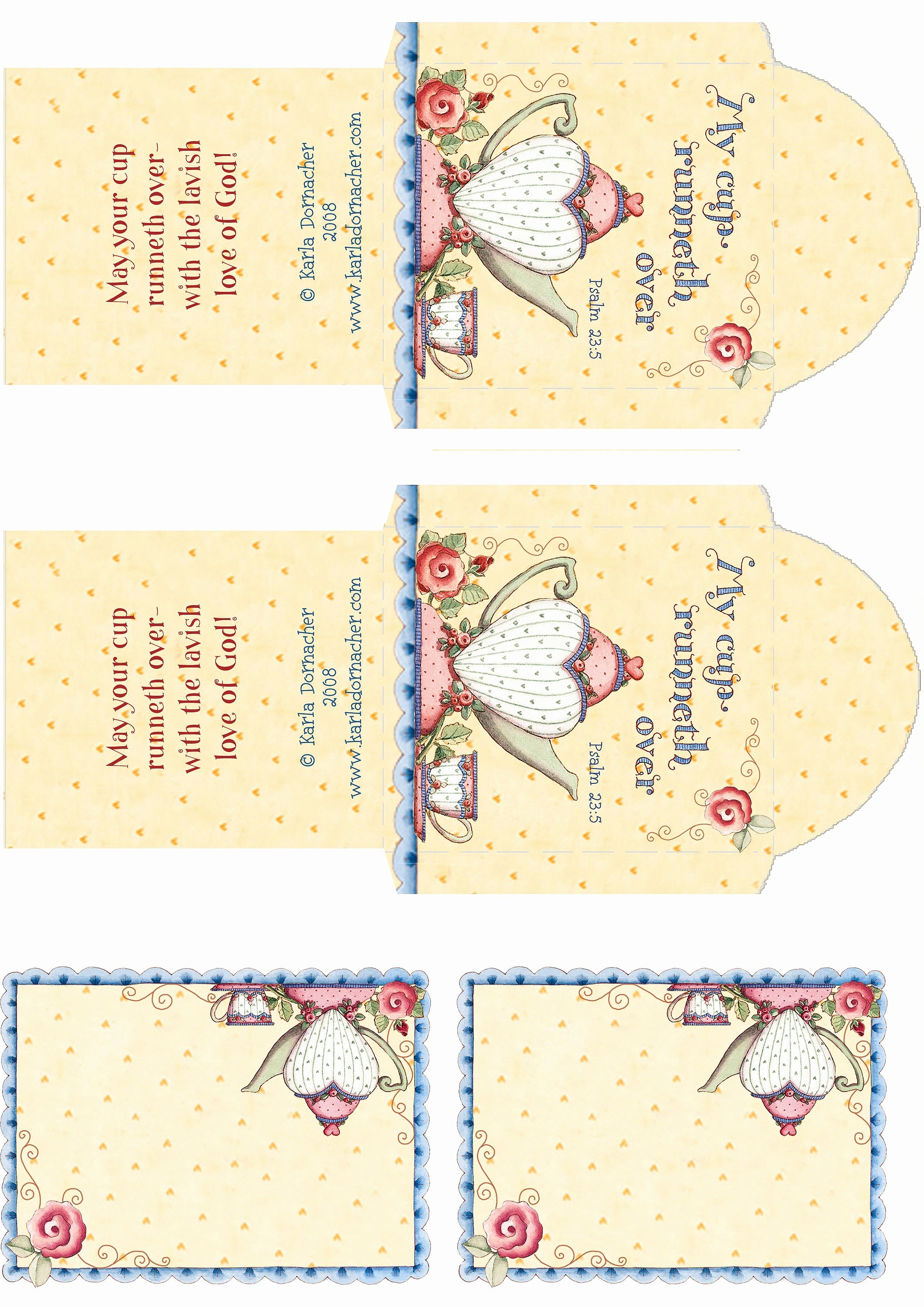 Tea Bag Tags Template Lovely Tea Bag Printable Google Search