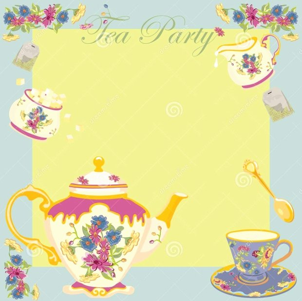 Tea Party Invite Template Awesome 18 Tea Party Invitations Printable Psd Ai Vector Eps