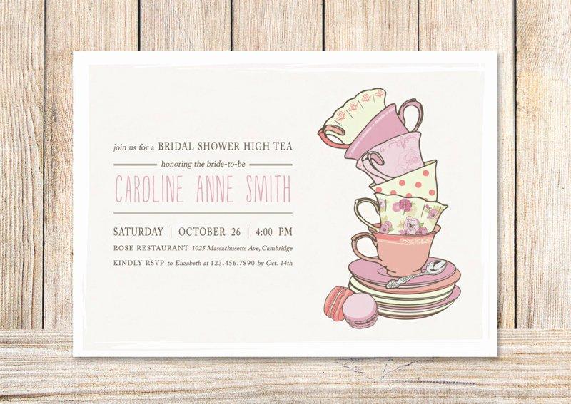 Tea Party Invite Template Unique Kids Tea Party Invitation Template – orderecigsjuicefo