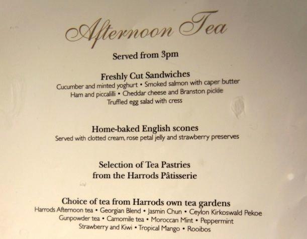 Tea Party Menu Template Fresh at Harrod S Anglophile afternoon Tea Pinterest