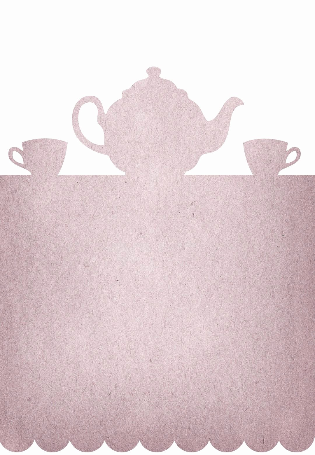 Tea Party Menu Template Fresh Tea Party Free Printable Party Invitation Template