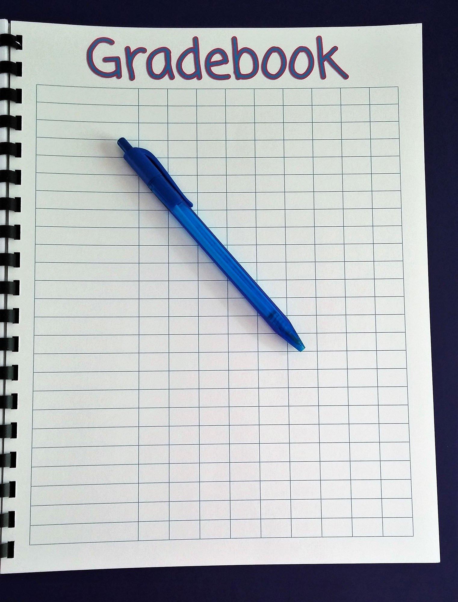 Teacher Grade Book Template New Printable Teacher Planner