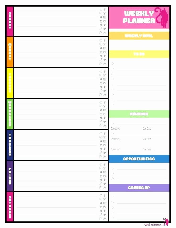 Teacher Weekly Planner Template Fresh Teacher Planner Template Pdf Activity Lesson Plan Template