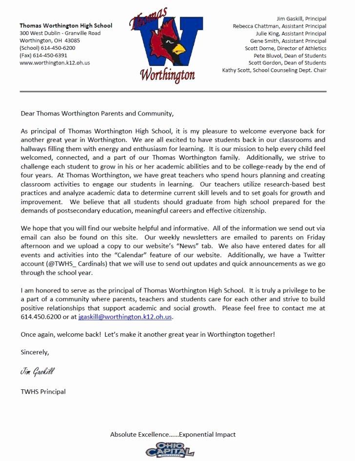Teacher Welcome Letter Template Fresh Teacher Wel E Letter Wel E Parent Letters From Teachers