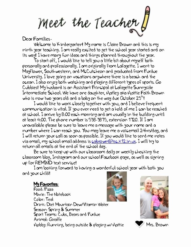 Teacher Welcome Letter Template Fresh Wel E Letter to Parents From English Teacher Google