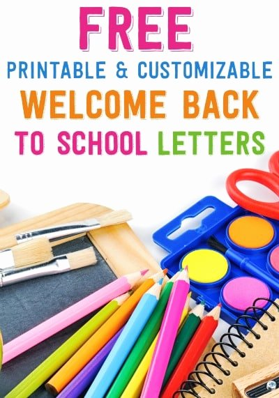 Teacher Welcome Letter Template Lovely Free Printable and Customizable Wel E Back to School Letters