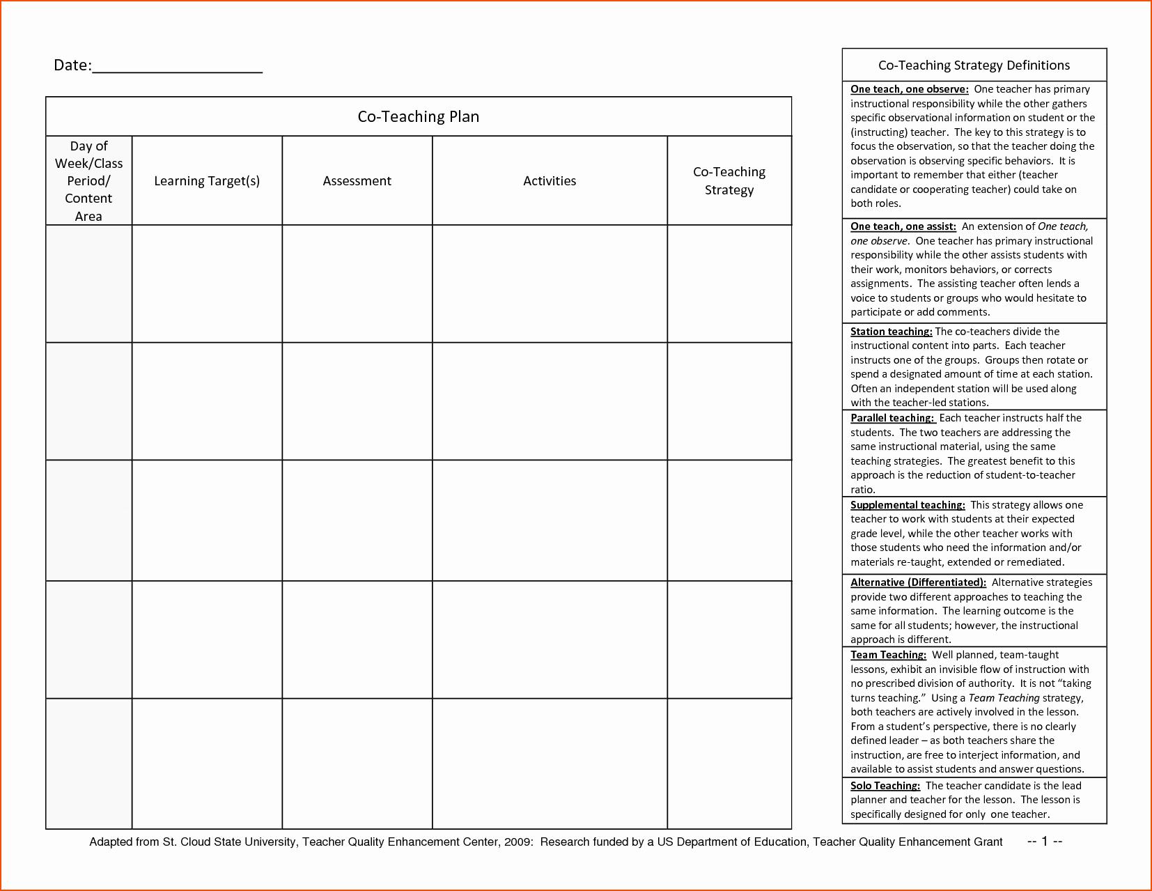 Teachers Planning Book Template Awesome 8 Teacher Planner Template Bookletemplate
