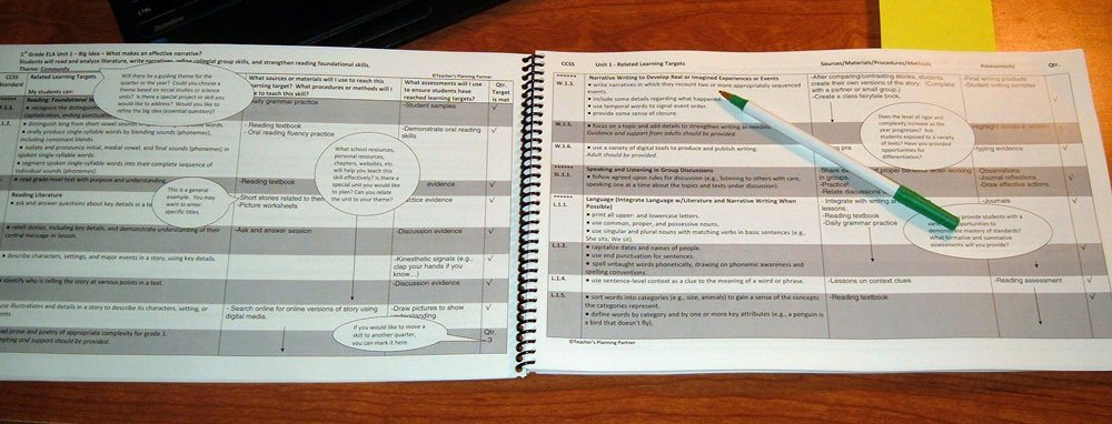 Teachers Planning Book Template Awesome Lesson Planning Book for Ccss by Teacher S Planning Partner