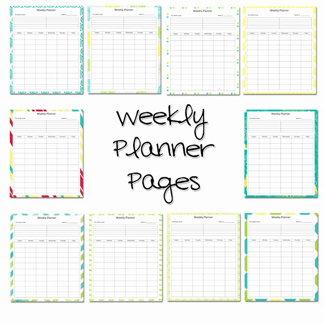 Teachers Planning Book Template Beautiful Lawteedah Weekly Lesson Planner