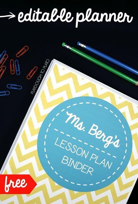 Teachers Planning Book Template Best Of Best 25 Lesson Plan Books Ideas On Pinterest