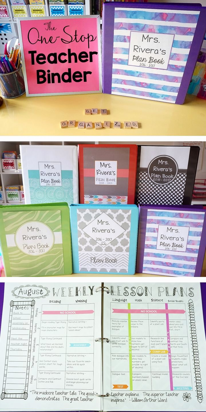 Teachers Planning Book Template Elegant 1000 Ideas About Binder Covers Free On Pinterest