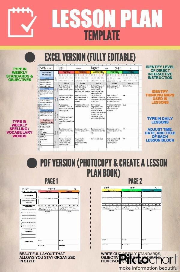 Teachers Planning Book Template New Lesson Plan Templates Google Digital Resource