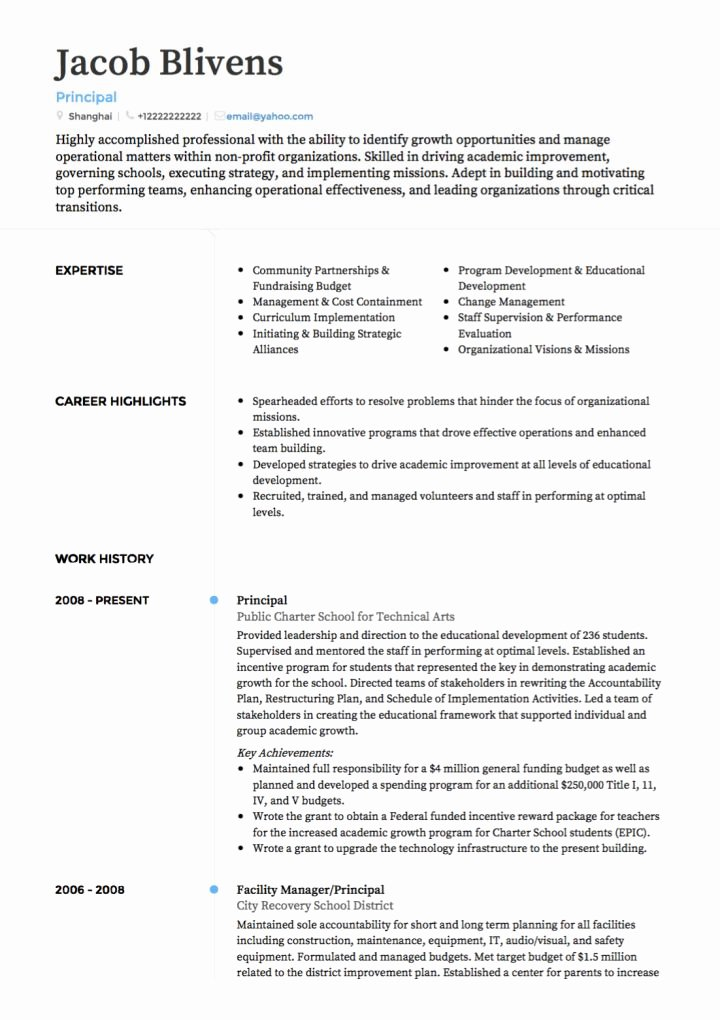 Teaching Resume Template Free Inspirational Teacher Cv Examples & Templates