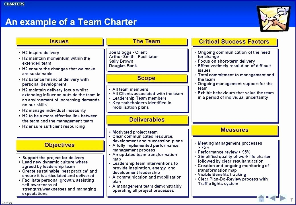 Team Charter Template Powerpoint Beautiful Project Charter Template Example Program Ppt – Nasi Uyo