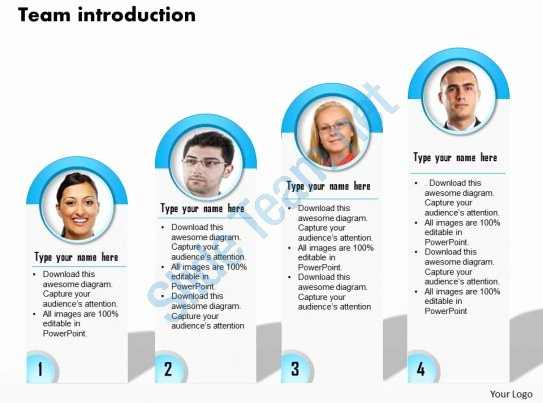 Team Introduction Ppt Template Awesome 0514 Graphic for Team Introduction