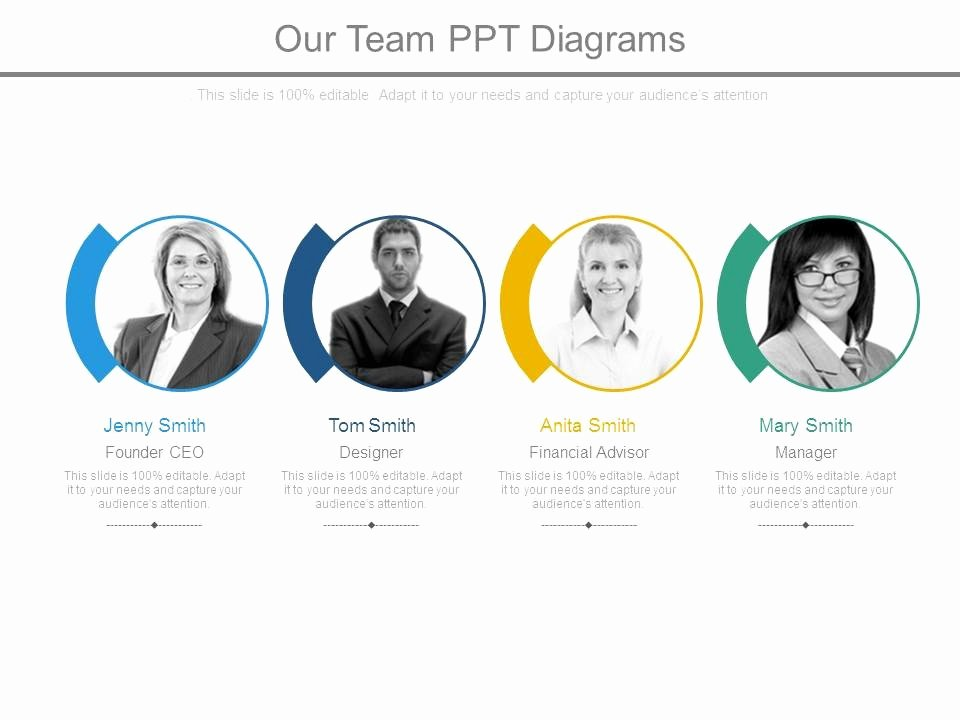 Team Introduction Ppt Template Best Of Style Essentials 1 Our Team 4 Piece Powerpoint
