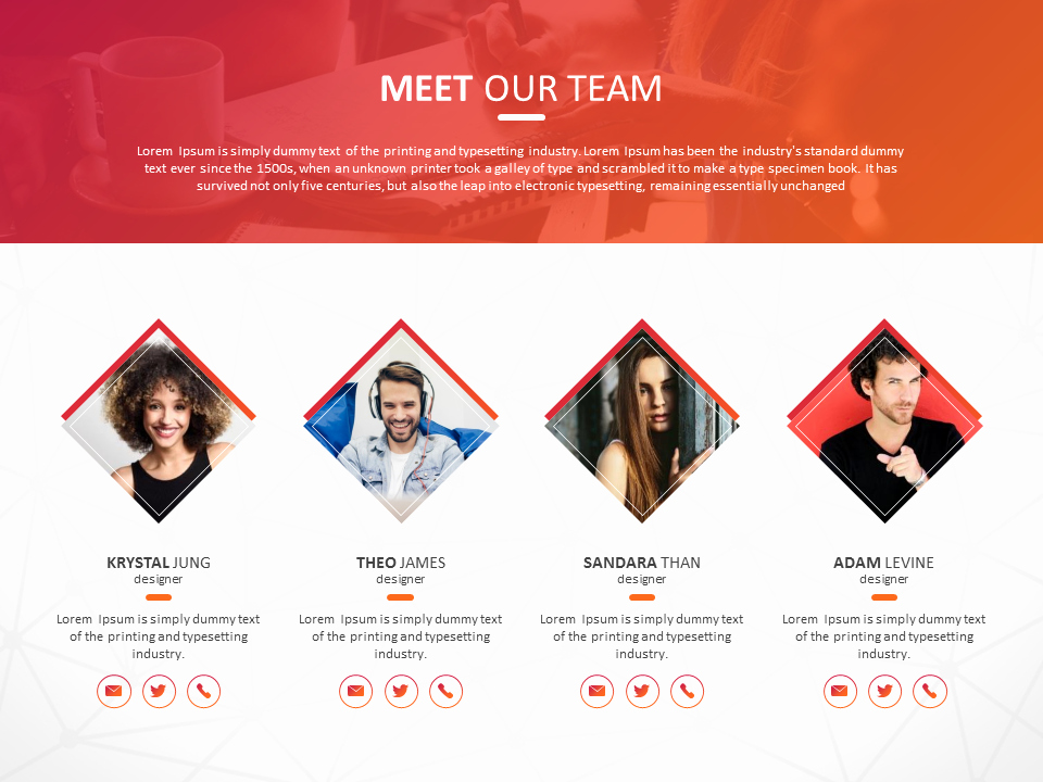 Team Introduction Ppt Template Fresh Powerpoint Slide for Team Introduction Presentation