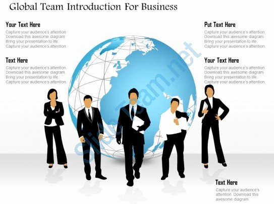 Team Introduction Ppt Template Lovely Global Team Introduction for Business Powerpoint Templates