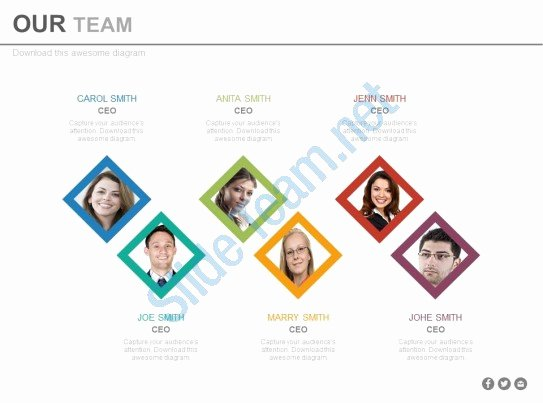 Team Introduction Ppt Template New Style Essentials 1 Our Team 6 Piece Powerpoint