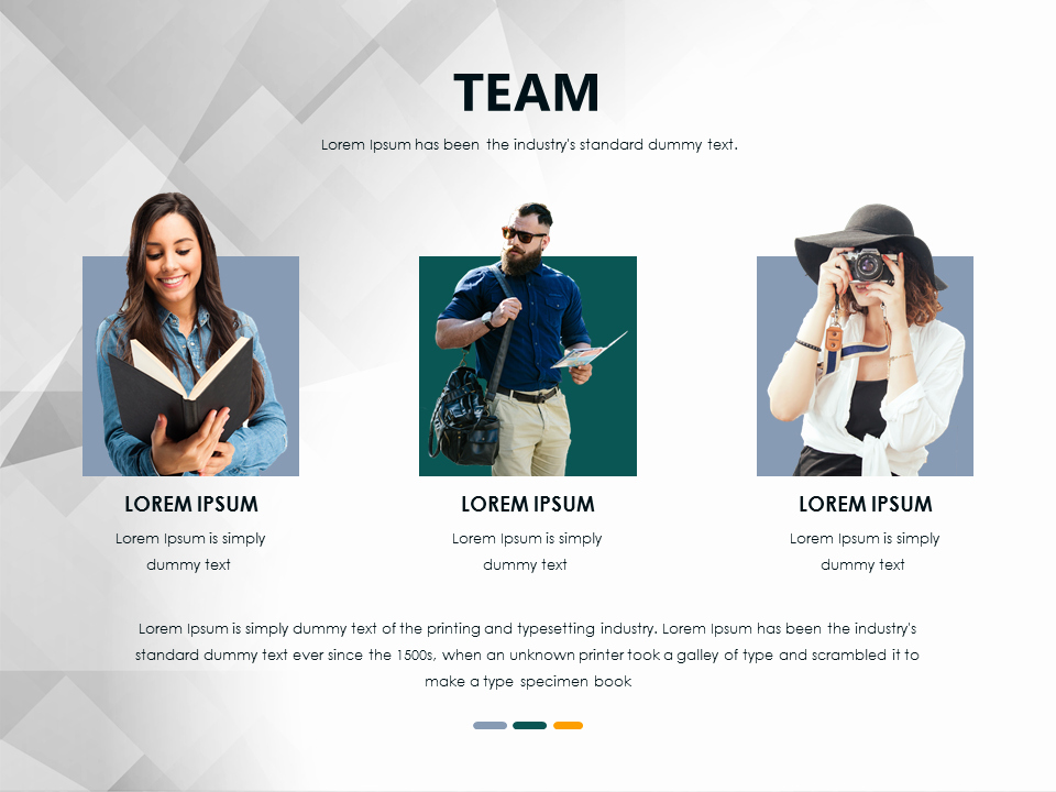 Team Introduction Ppt Template New Team Introduction Powerpoint Slide Free if You