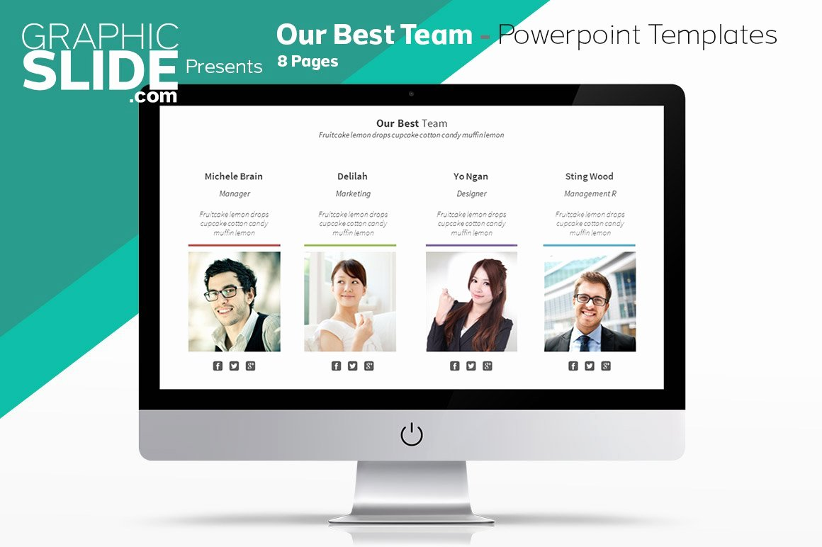 Team Introduction Ppt Template Unique Our Best Team Powerpoint Templates Powerpoint