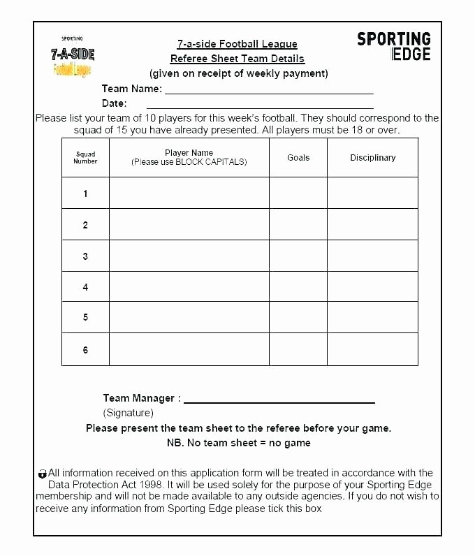 Team Snack Schedule Template Luxury Excel Golf League Schedule Template 7 Team – Wapuymfo