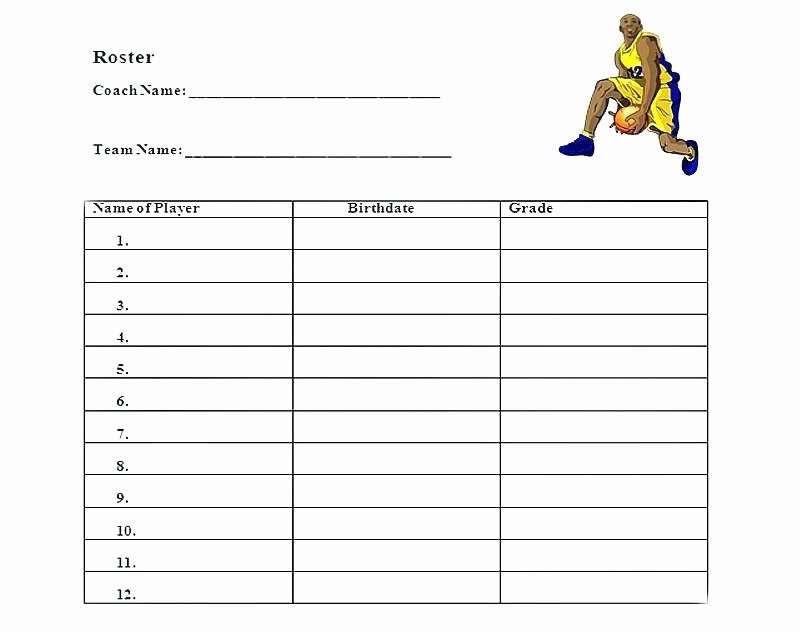 Team Snack Schedule Template Unique Team Sign Up Sheets Sheet Template In – Lccorp