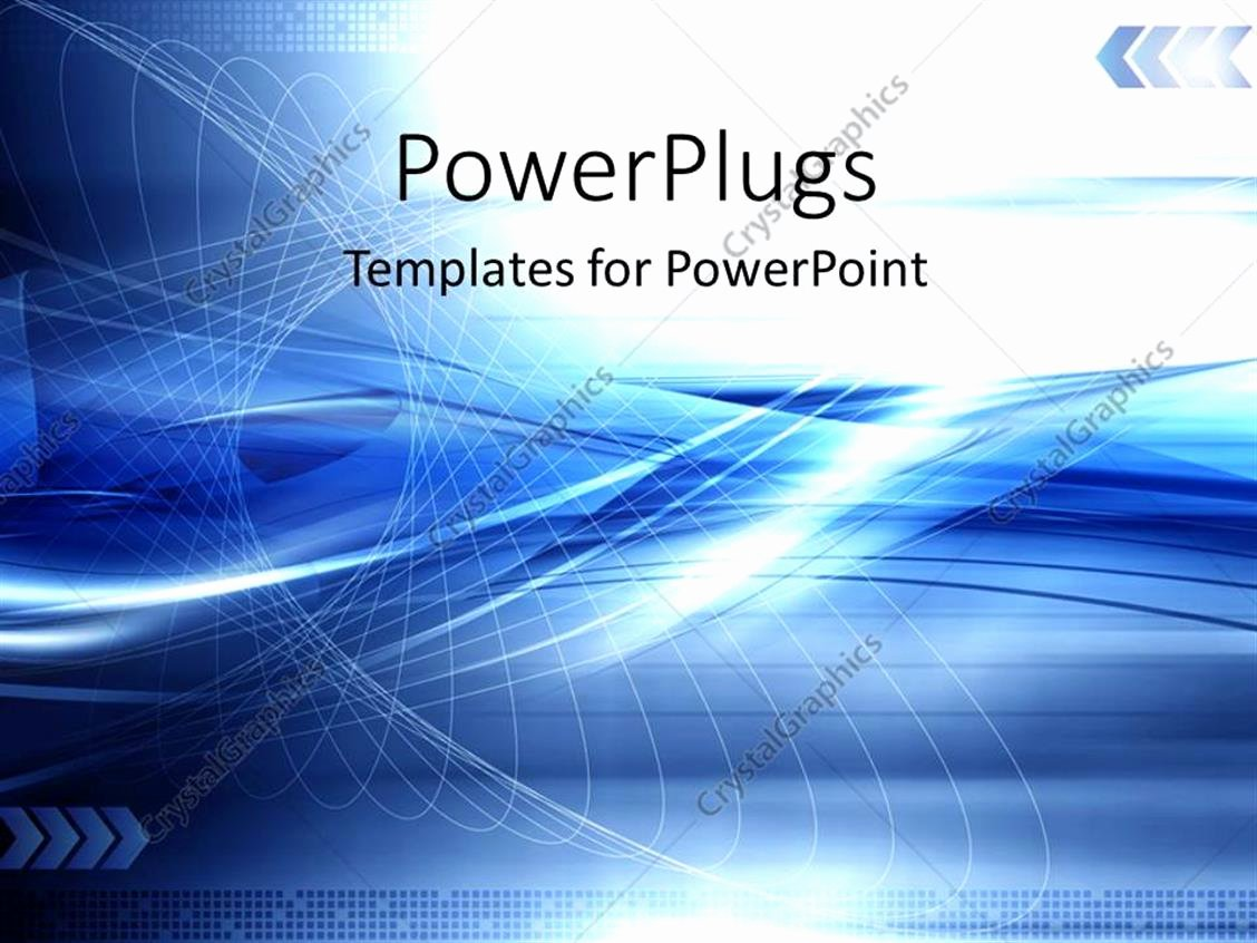 Technology Power Point Template Best Of Powerpoint Template Blue Abstract Technology Modern