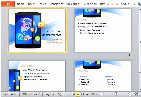 Technology Power Point Template Luxury Best Free Technology Powerpoint Templates