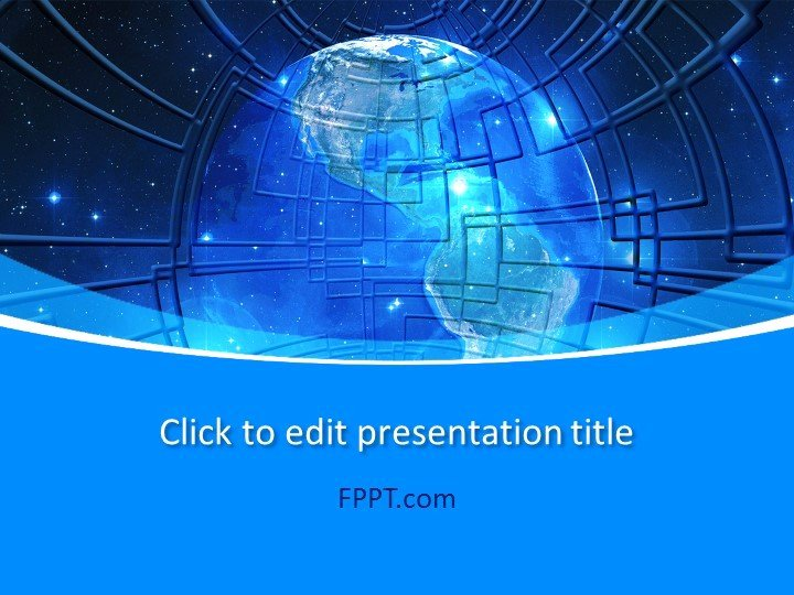 Technology Power Point Template Unique Technology Powerpoint Templates